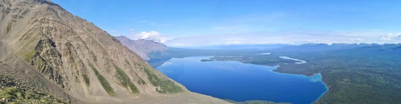 Panoramic view of Kathleen Lake