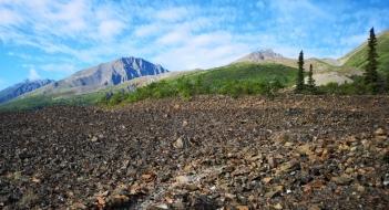 Trail to Rock Glacier