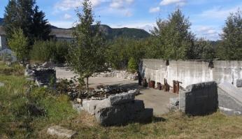 Remains of Fort Barracks