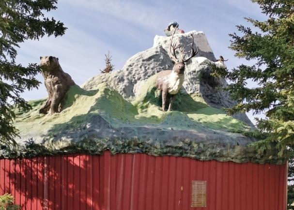 Haines Junction Village Monument