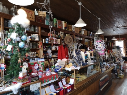 Inside the store