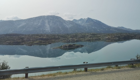 Bus from Carcross to Fraser