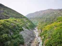 Trestle bridge no longer in use