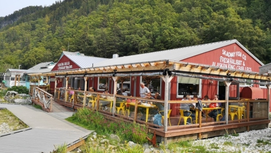 Great place for seafood lunch in Skagway