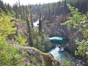 Pine Creek waterfall