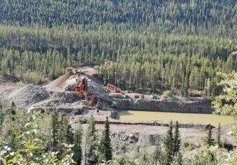 Gold Mining still going on
