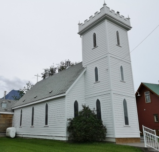Peter's Anglican Church circa 1900
