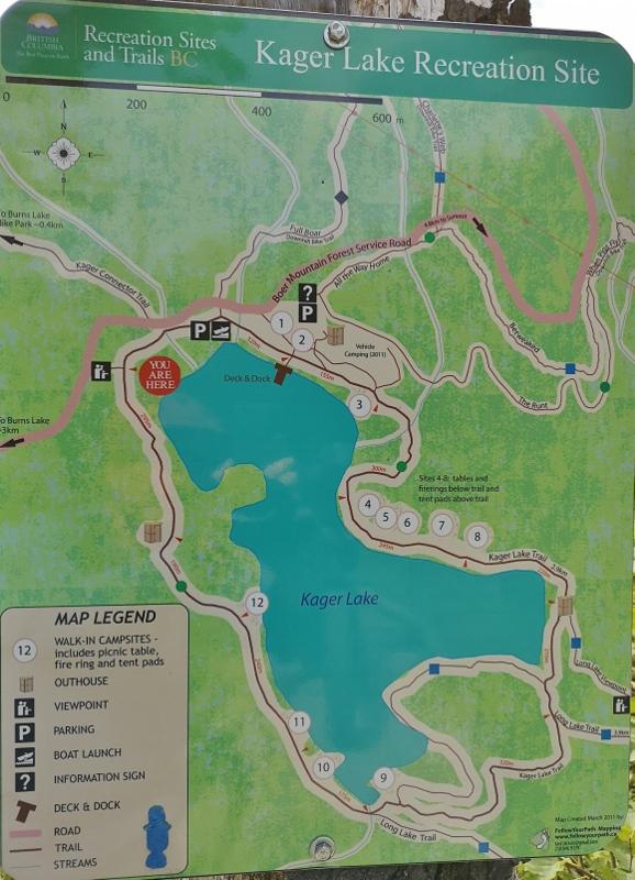 Kager Lake MTB Site