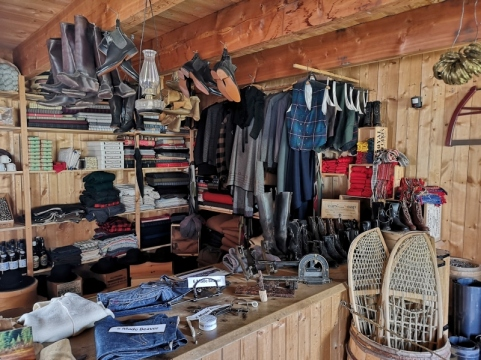 Inside Trading Post Store
