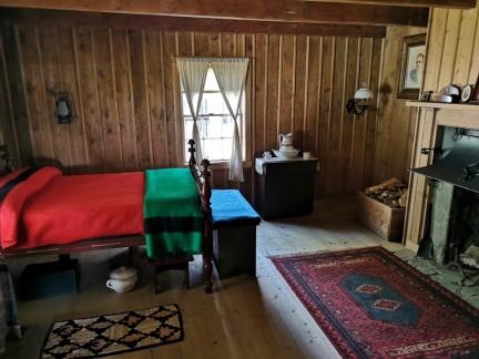 Inside Commander House