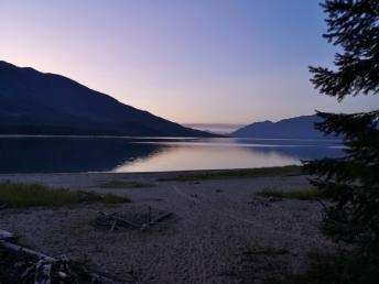 Sunset at McDonald Creek