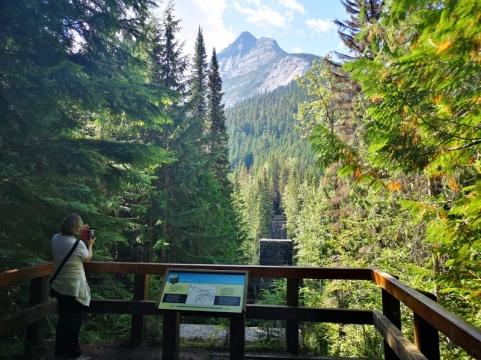 Loop Brook Trestle Trail