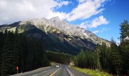Heading east towards Alberta
