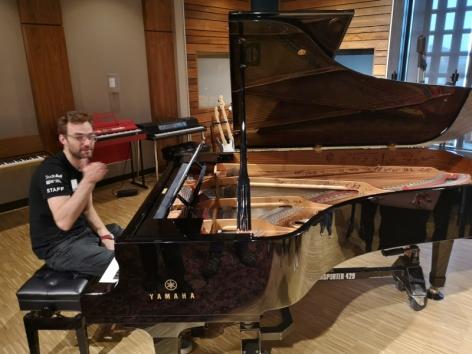 David Foster's Piano