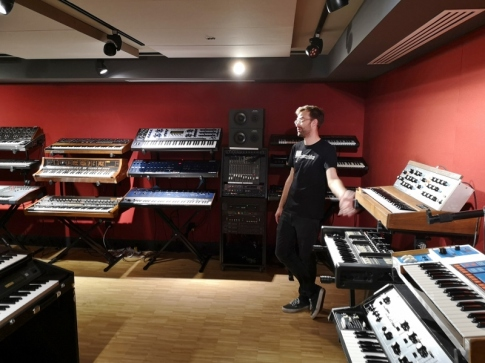 R.A. Moog Synthesizer