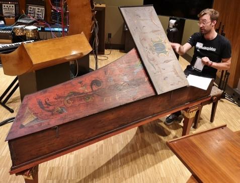 Harpsichord built in 1591