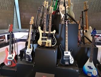 Geddy's favourite Bass Guitars