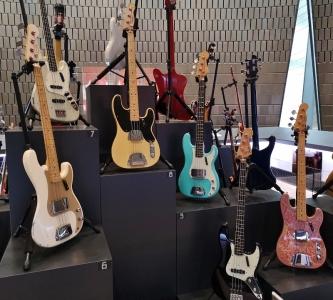 6 of Geddy's 90 Fender guitars