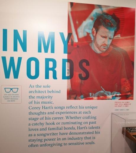 Corey Hart exhibit