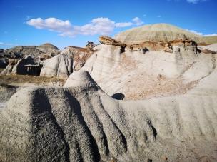 Eroding landscape