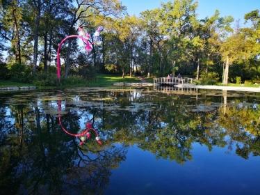 Reflection in Kildonan Park