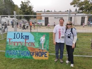 Terry Fox run in Kenora