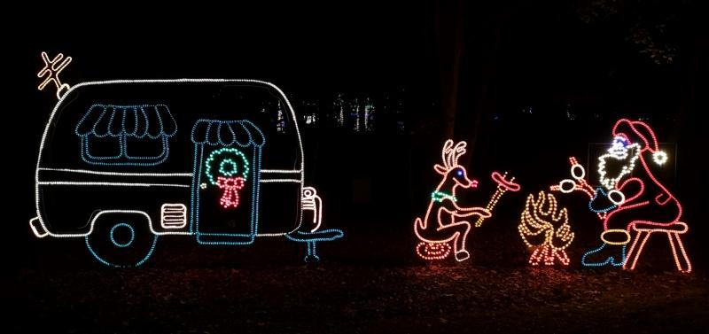 Campground lights