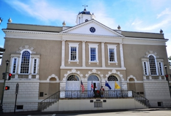 Old slave exchange building