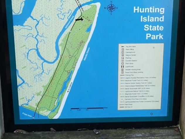 Hunting Island Trails