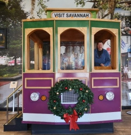 Old Towne Trolley replica
