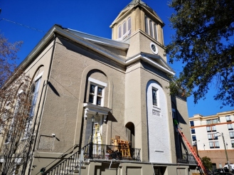 First African Baptist Church erected in 1859