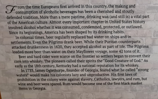 History of American Drinking part 1