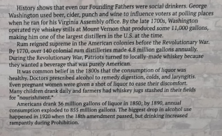 History of American Drinking part 2