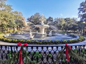 Fountain in Forsyth Park