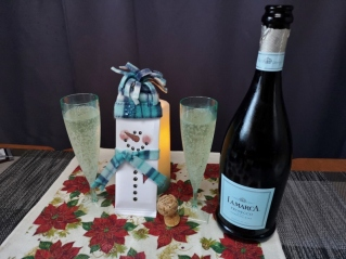 Prosecco for Christmas day breakfast