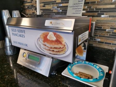 One Button Pancakes