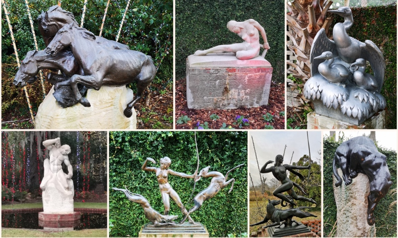 Sculpture collage