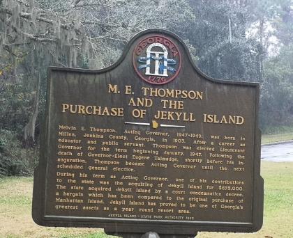 Georgia buys Jekyll Island
