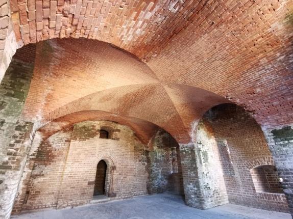 Complex brick arches