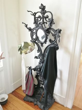 Cast Iron rack in hall