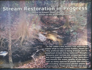 Many of the SP have habitat restoration underway