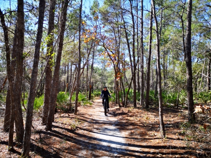Sharon on the Flatwoods Trail