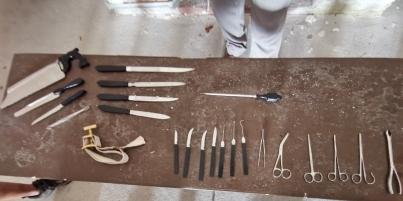 Civil War Medicine implements
