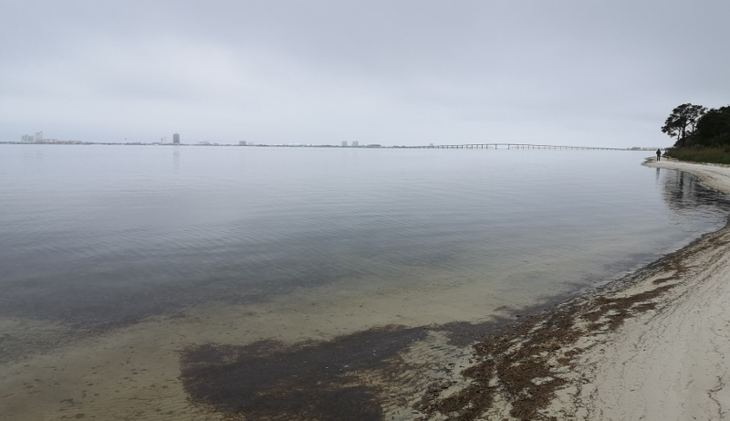 Santa Rosa Sound from nature trail