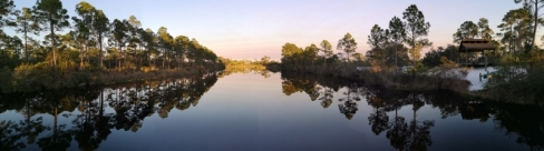 Reflection on Long Pond