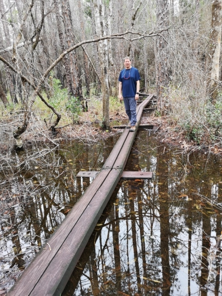 Blackwater Trail through the Cypress Swamp