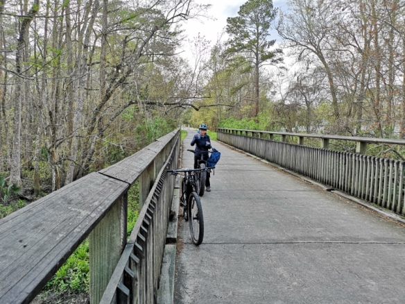 Riding the Tammany Trace Rail-Trail