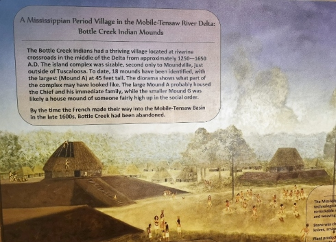 Native history with Bottle Creek Mounds