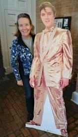 Elvis in Mississippi Visitor Center, he was born in Mississippi