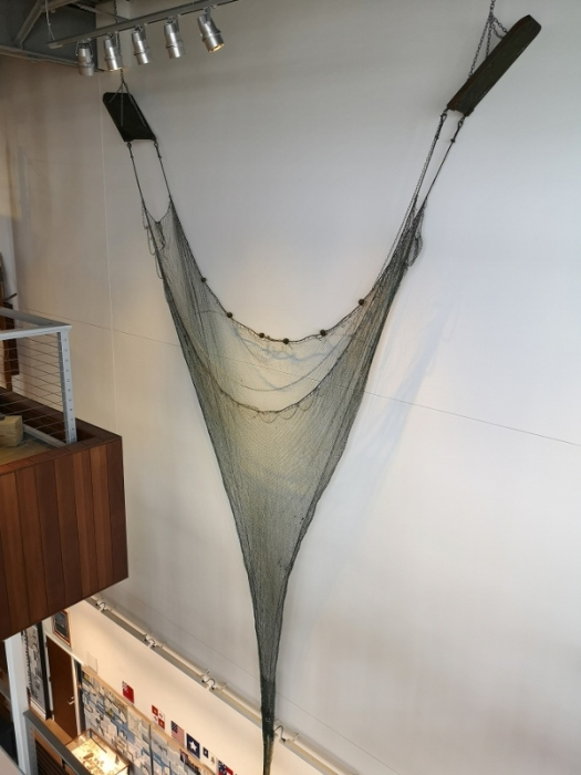 Old style shrimp net with no TED device
